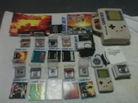 Gameboy ,case, games,charger, 4 player, Brite beam New Market, 21774