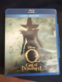 Oz the great and powerful  bluray 5$ Medicine Hat, T1B 1R5