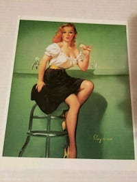 Vintage pin up girl print picture Riverside, 92504