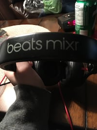 black Beats Mix headphones