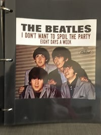 Collectable Beatles picture sleeve 381 mi