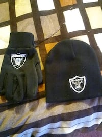 black Oakland Raiders knit cap Las Cruces, 88001