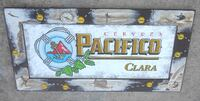 Brand new Pacifico Beer mirror 36x18 Port Saint Lucie