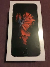 space gray iPhone 6s new in box Edmonton, T5M 0V7