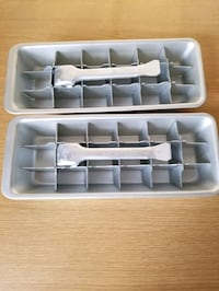 Two antique ice cube trays excellent condition