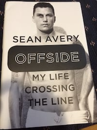 Sean avery offside hardcover book