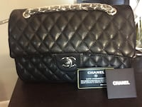 Quilted black chanel leather crossbody bag South Plainfield, 07080