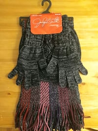 3 Piece Cold Weather Set - includes Scarf, Glove and Beret Toronto, M4S 2J7
