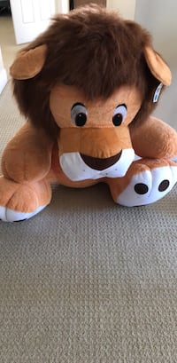 brown and white bear plush toy Surrey, V3S 6X1