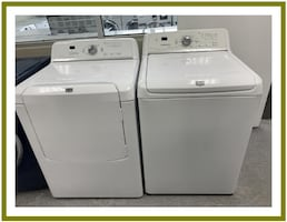 Maytag set washer and dryer