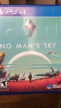 No Man's Sky Sony PS4 game case