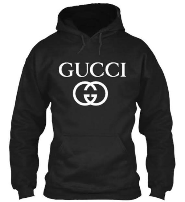 2d01a596641 Used Gucci hoodie black white for sale in Lithonia - letgo