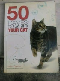 Book teaches you 50 games to play with your cat..  Los Angeles, 90006