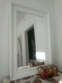 white wooden wardrobe with mirror Coquitlam, V3B