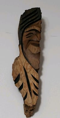 Signed and dated Wood carving 1979  Toronto, M2H