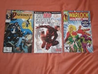 Three assorted Marvel comic books Queens, 11367