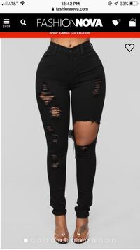 NEW Fashion Nova Women's black pants Springfield, 22151