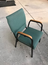 Used 4 Vintage Asian Ming Style Rolling Chairs W Castors