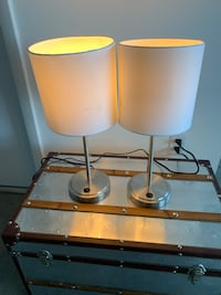 Two side table lamps w/ USB port Miami, 33132
