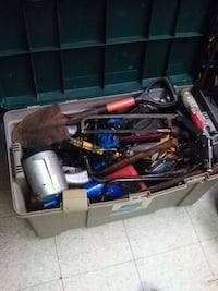 Huge tote full of tools make offet