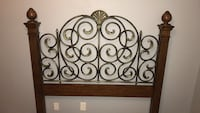 Queen headboard, footboard, and frame Fort Myers, 33907