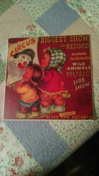 Reproduction peter pan record cover Thurmont, 21788