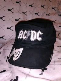 VINTAGE ACDC MILITARY STYLE CAP!