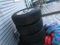 A set of all Season tires great condition  Oliver, V0H 1T6