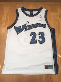 Vintage Nike Washington Wizards Michael Jordan NBA Jersey Large RARE
