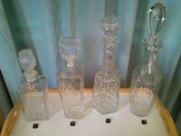 Vintage Glass Decanters  West Springfield