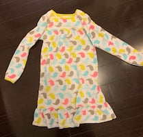 Carters Size Large fleece Nightgown