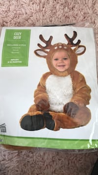 6-12month baby deer Halloween costume Cary, 60013