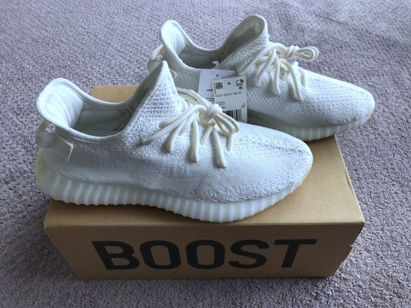 e2d640027f427 Used New Yeezy 350 Boost Triple White (size 9.5) for sale in Chicago ...