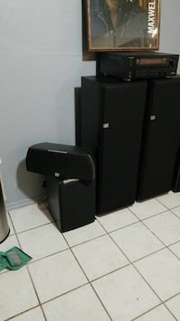 JBL home system with receiver