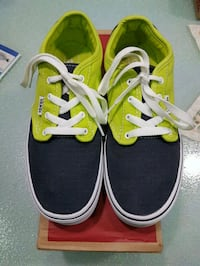 sneakers low-top di Vans verde e nero Naples