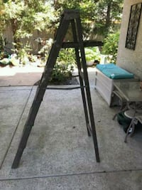 Antique shabby chic all wood ladder $150 Granite Bay, 95746
