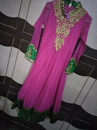 women's pink and green floral dress Dehradun, 248001