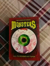 Monsters dvd set.   Silver Spring, 20905