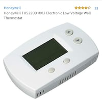 2 Honeywell thermostats ( used) Alexandria