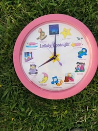 Lullaby Goodnight Wall Clock