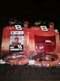 2 COLLECTABLE DALE JR PACKAGES NEW/ 1:64 CAR