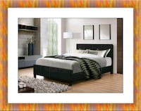 Full platform bed with free box spring and deliv 29 km