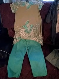 Nice outfit size 10 and m shirt in women's Indianapolis, 46219