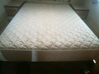 white and gray bed queen mattress Clinton, 20735