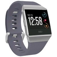 Fitbit Ionic, Blue Gray Band / Silver Gray Case, S-L Size Toronto, M9V 2X6