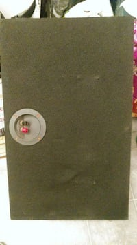 black and gray subwoofer speaker Edmonton, T5C 2V3