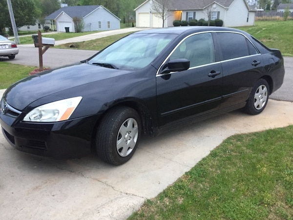 2006 Honda Accord Sedan >> 2006 Honda Accord Lx