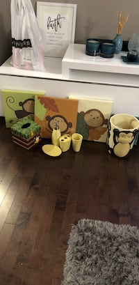 Monkey theme bathroom set Edmonton, T6X 1N9