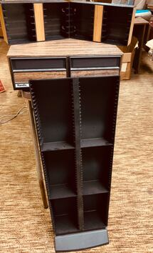 Lot of Media Storage Containers
