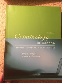 Criminology in Canada London, N6H 4T6